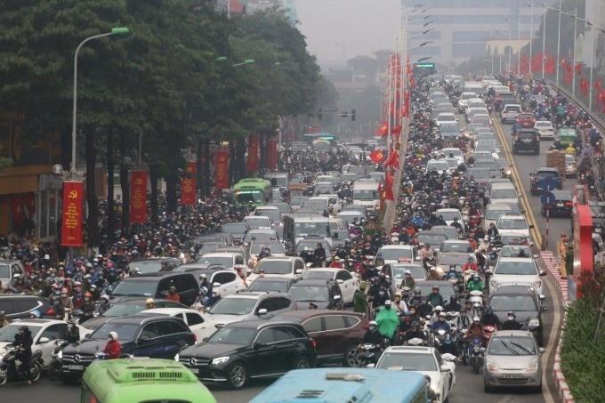 Hà Nội đề xuát lập 87 trạm thu phí phương tiện vào nội đô