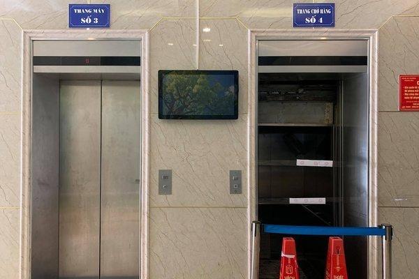 38 người được giải cứu sau khi mắc kẹt thang máy ở Hà Nội