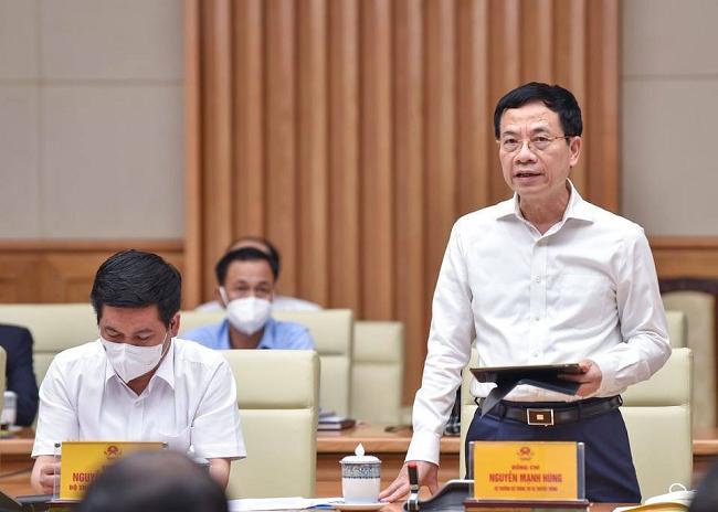 Bộ trưởng Nguyễn Mạnh Hùng nói về chuyển đổi số doanh nghiệp thời Covid