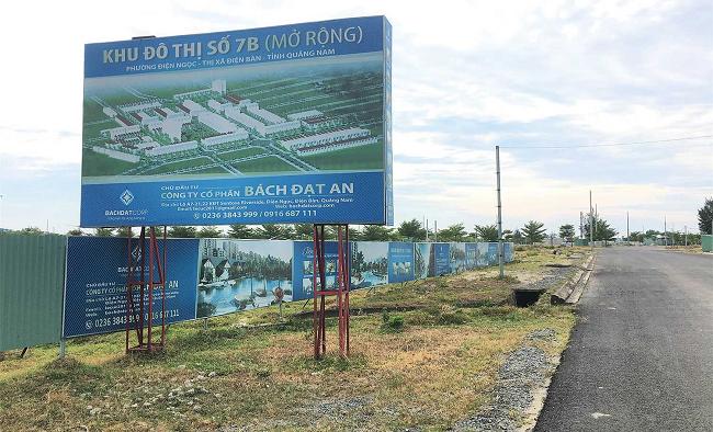 Sau kết luận thanh tra, Chủ tịch tỉnh Quảng Nam chỉ đạo xử lý sai phạm tại 4 khu đô thị của Bách Đạt An
