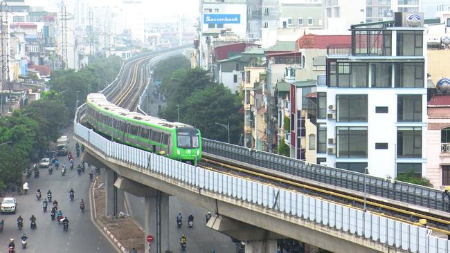Chậm tiến độ, tăng tổng mức đầu tư là tình trạng chung của 6 dự án đường sắt đô thị