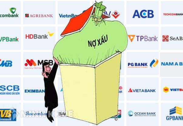 Nợ xấu tăng nhanh, ngân hàng ráo riết cơ cấu lại, bán thanh lý tài sản bảo đảm