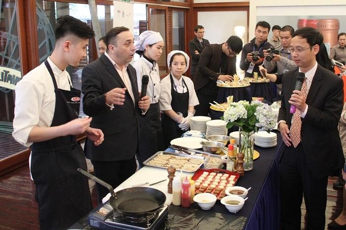 Không gian văn hóa ẩm thực đậm chất Pháp dành cho người dân Thủ đô