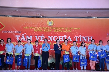 tang hon 12000 ve xe ve tau cho cong nhan ve que don tet canh ty 2020