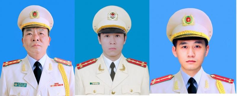 bo cong an thong bao ve le tang 3 can bo chien sy cong an hy sinh trong vu viec tai dong tam