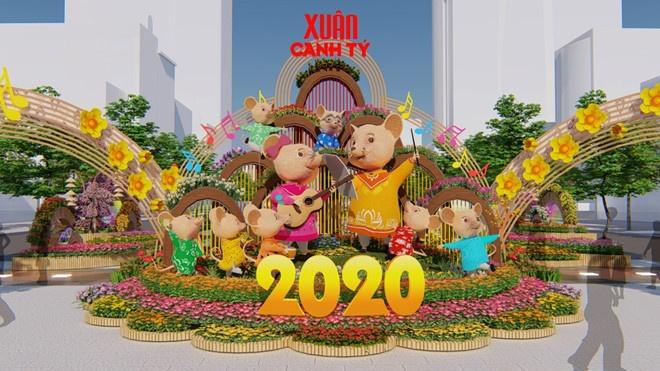 Lần đầu tiên tổ chức bình chọn ảnh Đường hoa Nguyễn Huệ 2020 được yêu thích nhất