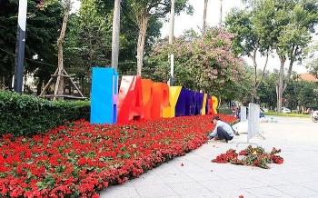 Hà Nội khẩn trương chỉnh trang đô thị phục vụ dịp Tết Nguyên đán Canh Tý 2020