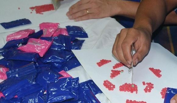 Bắt giữ đối tượng tàng trữ hơn 720 viên ma túy tổng hợp