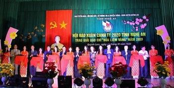 Nghệ An khai mạc Hội báo Xuân Canh Tý 2020