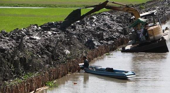 Từ nửa cuối tháng 3 đến tháng 6/2020, xâm nhập mặn ở đồng bằng sông Cửu Long có xu thế giảm dần
