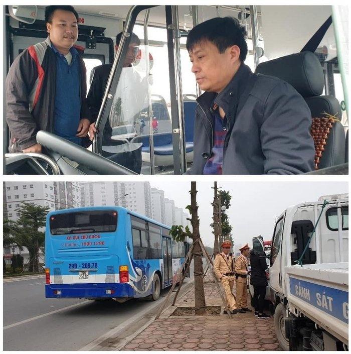 Phát hiện lái xe buýt uống rượu vẫn chở khách