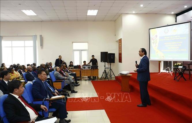 Việt Nam và các nước Trung Đông - châu Phi tăng cường hợp tác cùng phát triển