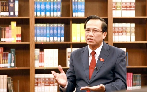 Bộ trưởng Đào Ngọc Dung: Bộ Luật lao động sẽ có sức sống rất dài trong lịch sử xây dựng pháp luật lao động Việt Nam