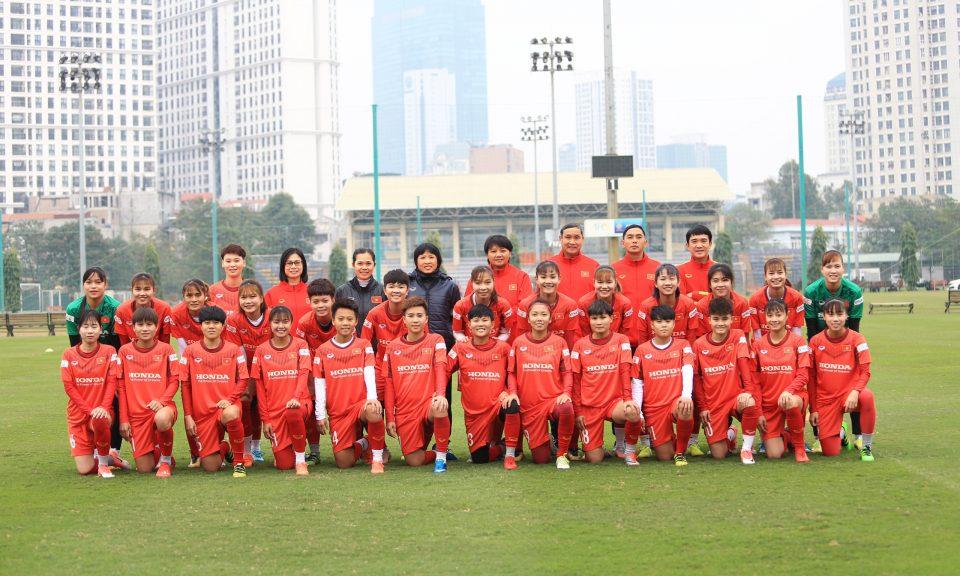 Đội tuyển nữ quốc gia trẻ hóa lực lượng chuẩn bị cho các mục tiêu lớn năm 2021