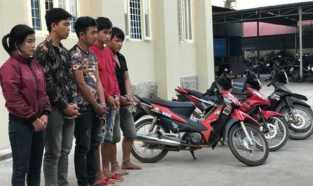 triet pha duong day chuyen trom xe mo to lien tinh