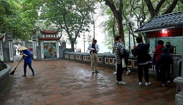 Khách du lịch đến Hà Nội có xu hướng tăng