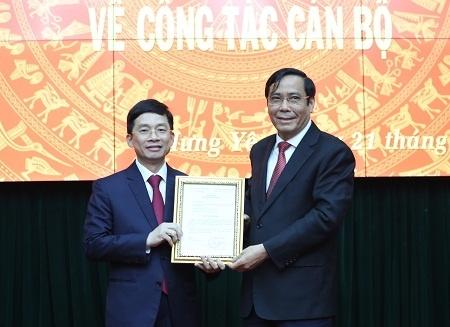 Đồng chí Nguyễn Duy Hưng được điều động làm Phó Bí thư Thường trực Tỉnh ủy Hưng Yên