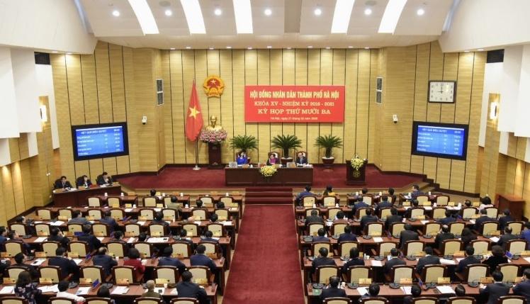 HĐND thành phố Hà Nội thông qua Nghị quyết về việc sáp nhập, đặt tên và đổi tên thôn, tổ dân phố thuộc 11 quận, huyện