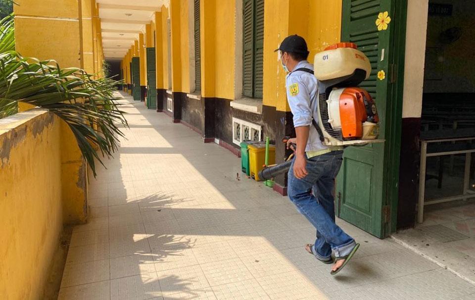 1,7 triệu học sinh thành phố Hồ Chí Minh chính thức đi học trở lại từ ngày 1-3