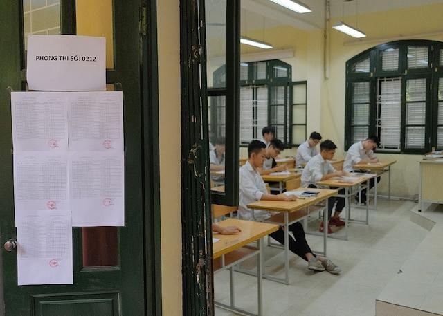 Sửa đổi Quy chế thi Trung học phổ thông quốc gia: Thí sinh bị đình chỉ thi sẽ hủy kết quả toàn bộ các bài thi