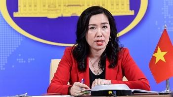 Người Phát ngôn Bộ Ngoại giao: Yêu cầu Trung Quốc tôn trọng chủ quyền của Việt Nam