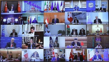 Thủ tướng Nguyễn Xuân Phúc dự Hội nghị thượng đỉnh trực tuyến G20 về ứng phó dịch COVID-19