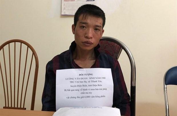 Điện Biên: Bắt hai anh em ruột mua bán trái phép 6.000 viên ma túy tổng hợp