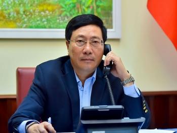 ASEAN 2020: Phó Thủ tướng, Bộ trưởng Ngoại giao Phạm Bình Minh điện đàm với Bộ trưởng Ngoại giao Philippines