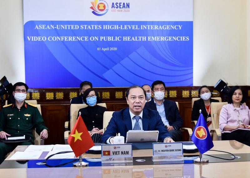 ASEAN 2020: ASEAN-Mỹ thúc đẩy hợp tác trong ứng phó với dịch COVID-19 và các thách thức y tế công cộng