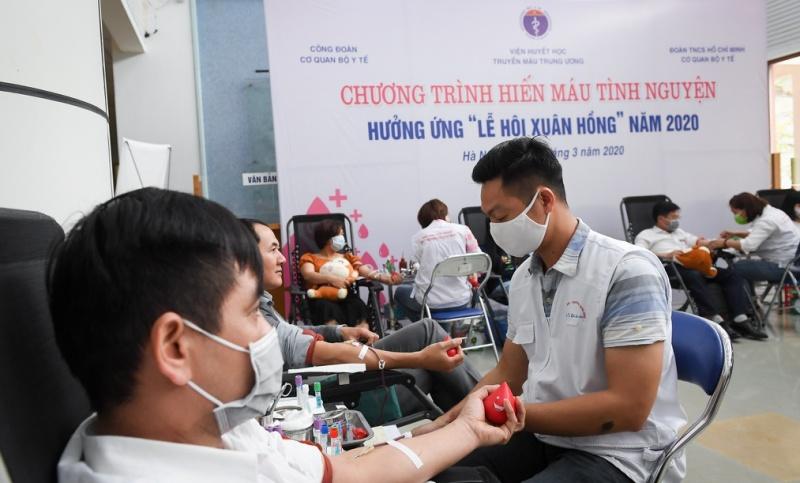 Hiến máu an toàn – không ngại dịch COVID-19