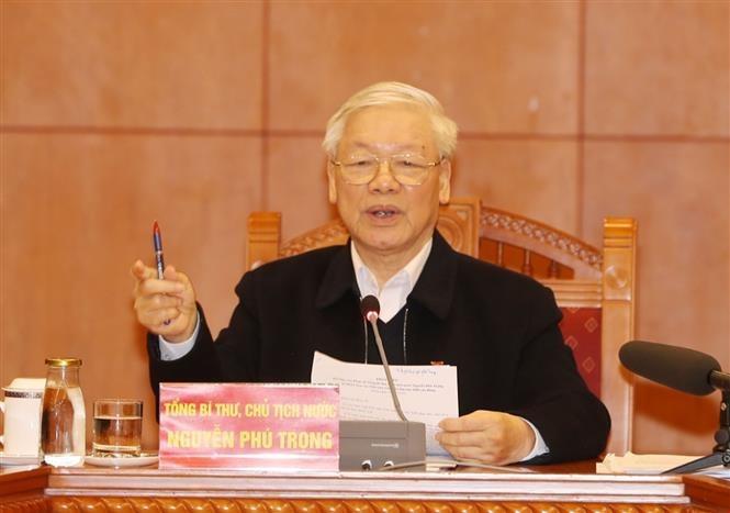 Tổng Bí thư, Chủ tịch nước Nguyễn Phú Trọng gửi thư cho đồng bào, đồng chí và chiến sĩ cả nước nhân Ngày 'Toàn dân hiến máu tình nguyện'