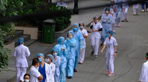 Kiểm tra công tác phòng chống dịch tại 2 bệnh viện có hợp đồng với Công ty TNHH Trường Sinh