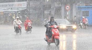 Từ đêm 3/4 đến 13/4, nhiều khu vực có mưa và dông, đề phòng thời tiết nguy hiểm