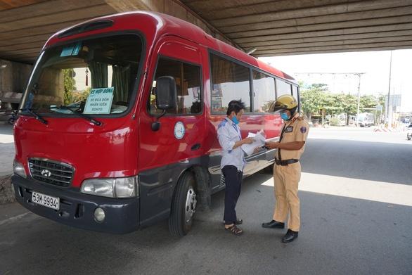 Thành phố Hồ Chí Minh công bố 62 chốt, trạm kiểm dịch phòng chống dịch
