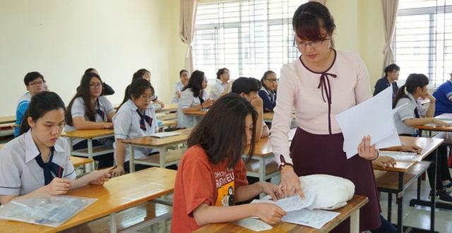 Thi Trung học phổ thông quốc gia 2020: Giảm độ khó trong đề thi tham khảo