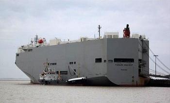 Cảng Hải Phòng họp khẩn triển khai phương án xếp dỡ tàu Ro-Ro TIANJIN HIGHWAY
