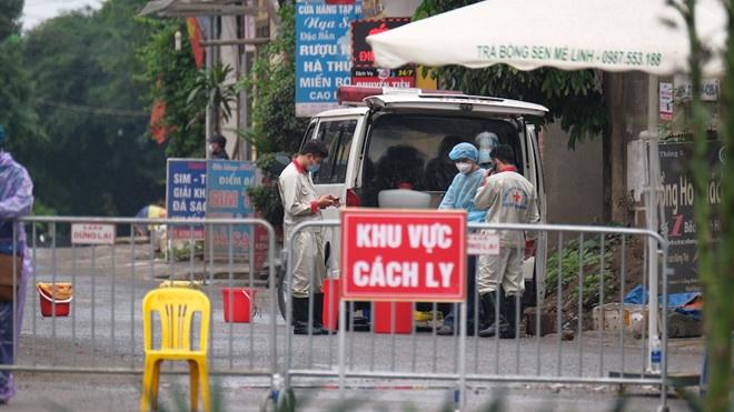 Hà Nội: Cách ly thêm thôn Hạ Lôi (Mê Linh) do phát hiện thêm 2 trường hợp mắc COVID-19 tiếp xúc với bệnh nhân 243
