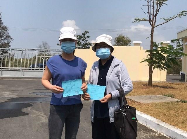 Thêm hai bệnh nhân mắc COVID-19 được công bố khỏi bệnh
