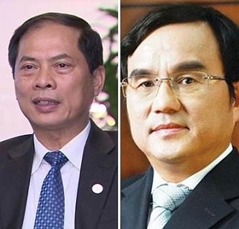 Thủ tướng Chính phủ bổ nhiệm lại nhân sự Bộ Ngoại giao và Tập đoàn Điện lực Việt Nam