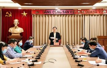 Bí thư Thành ủy Hà Nội Vương Đình Huệ: Tinh giản biên chế phải đi đôi với nâng cao chất lượng cán bộ