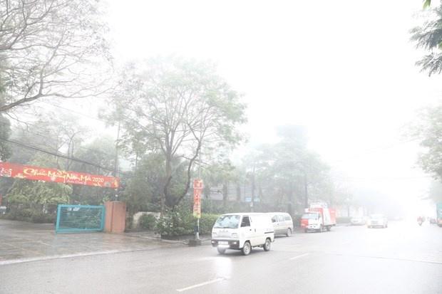 Bắc Bộ có sương mù về đêm và sáng, nhiệt độ cao nhất 28 độ C