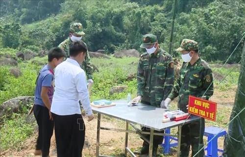 """Sơn La: """"Lũy thép"""" chống dịch COVID-19 trên tuyến biên giới"""