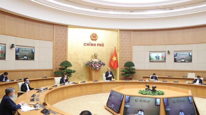 Thủ tướng Nguyễn Xuân Phúc: Nếu dịch bệnh làm khó khăn gấp đôi, chúng ta phải cố gắng gấp ba
