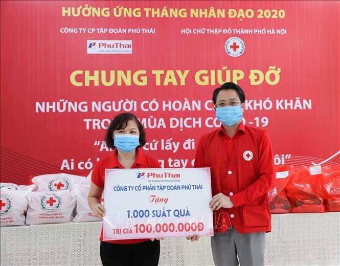 Trợ giúp 5.000 - 7.000 lượt người có hoàn cảnh khó khăn trong Tháng Nhân đạo năm 2020