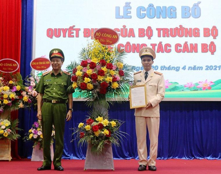 Đại tá Bùi Duy Hưng được điều động và bổ nhiệm làm Giám đốc Công an tỉnh Bắc Ninh