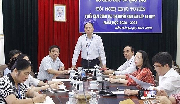 diem moi trong ky thi vao lop 10 trung hoc pho thong nam hoc 2020 2021 tai hai phong