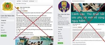 canh bao ve cac trang facebook gia mao luc luong cong an