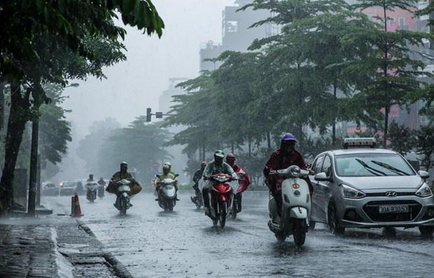 Từ đêm 24/5 đến ngày 2/6, hầu hết các khu vực trên toàn quốc có mưa dông vào chiều tối và đêm