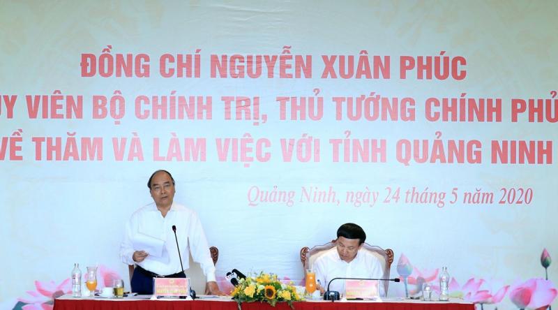 thu tuong nguyen xuan phuc quang ninh can co chien luoc phat trien kinh te du lich mui nhon