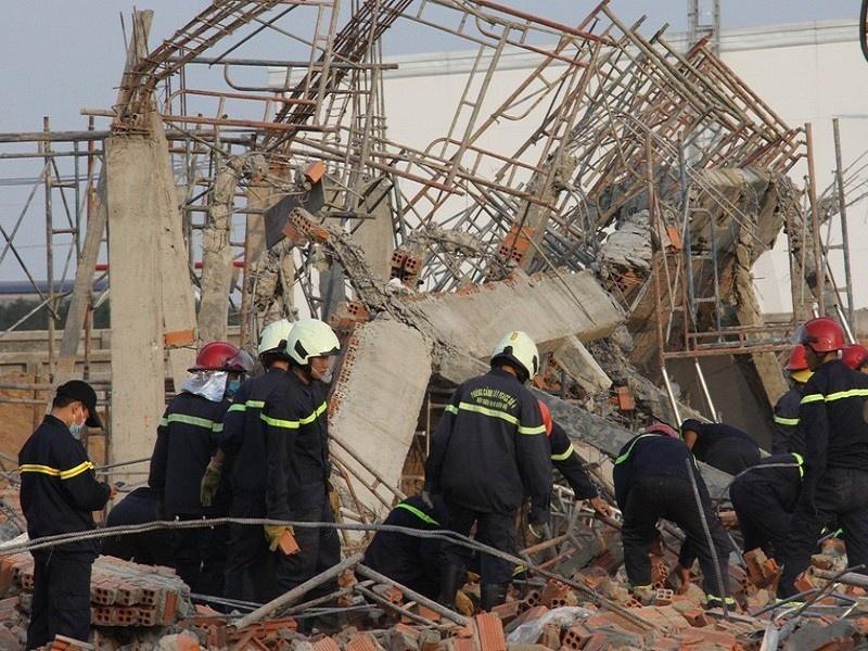 Vụ sập công trình làm 10 người tử vong tại Đồng Nai: Khởi tố Giám đốc công ty thi công công trình